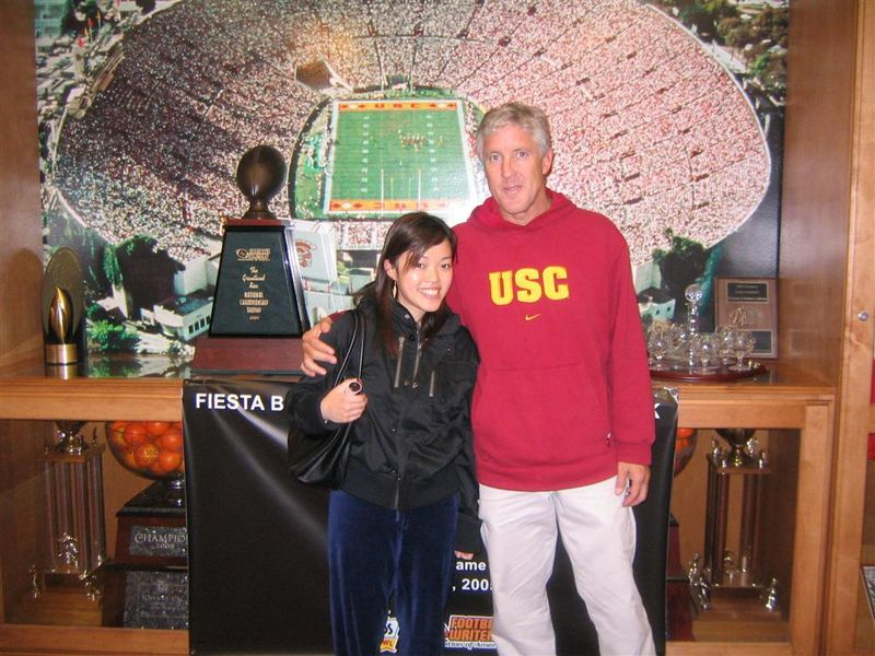 Pete Carroll Alumni Day 2005