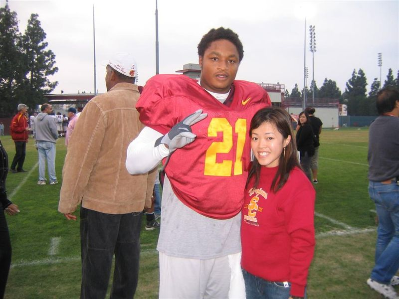 Lendale White and Cory USC