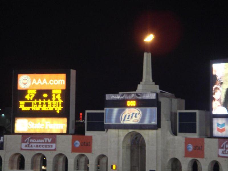 Home of USC Coliseum