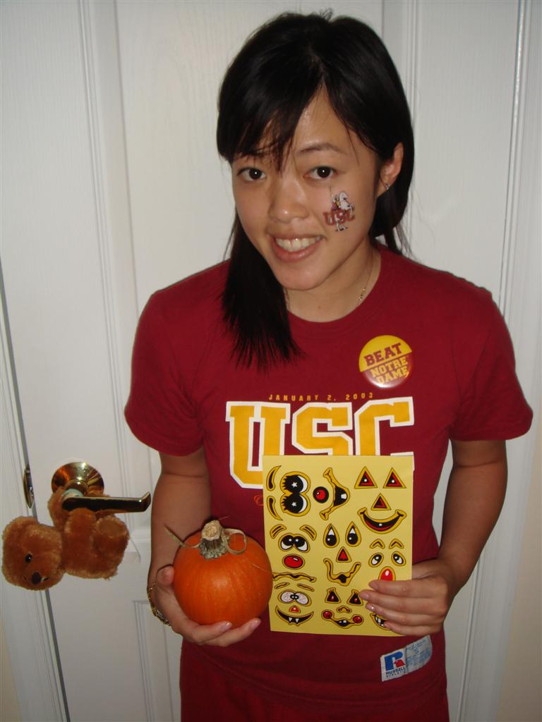 Pumpkin Patch By-product on USC-Notre Dame Gameday 10-20-07 (Custom)