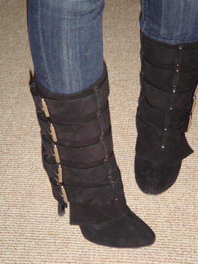 Balmain buckle boots
