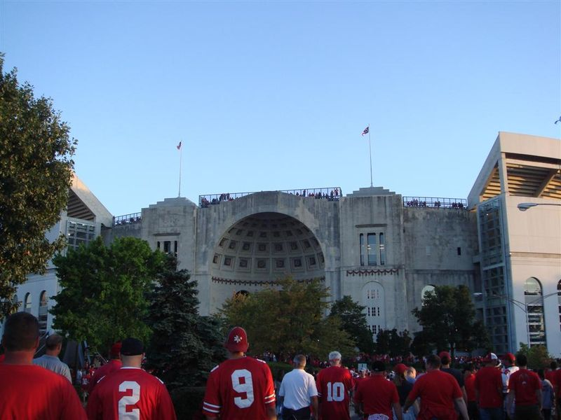USC at Ohio State game day