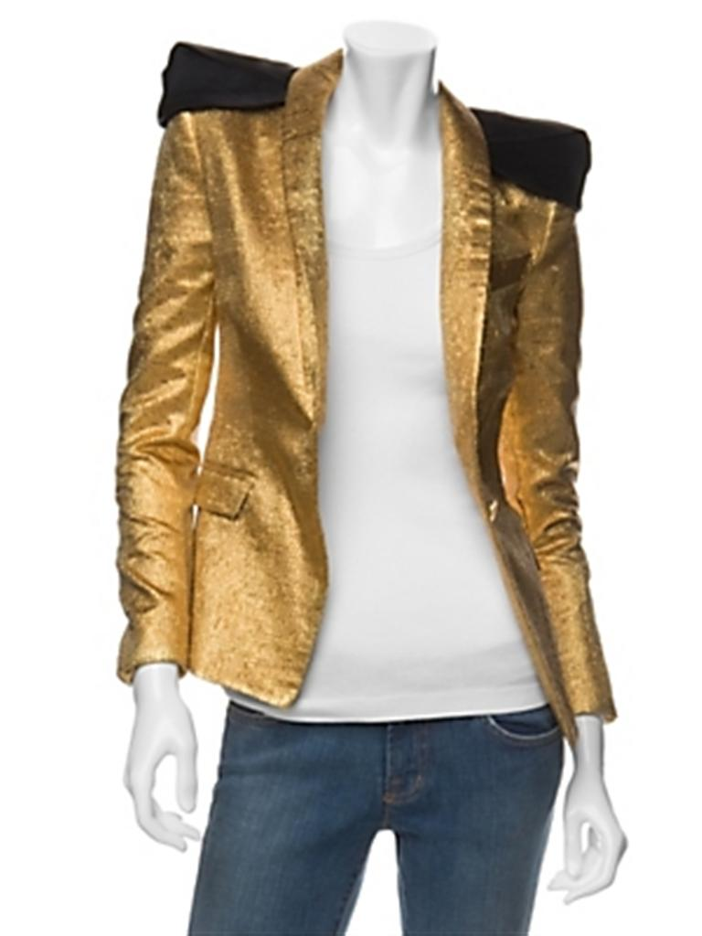 Camilla and marc intermix gold jkt (Custom)