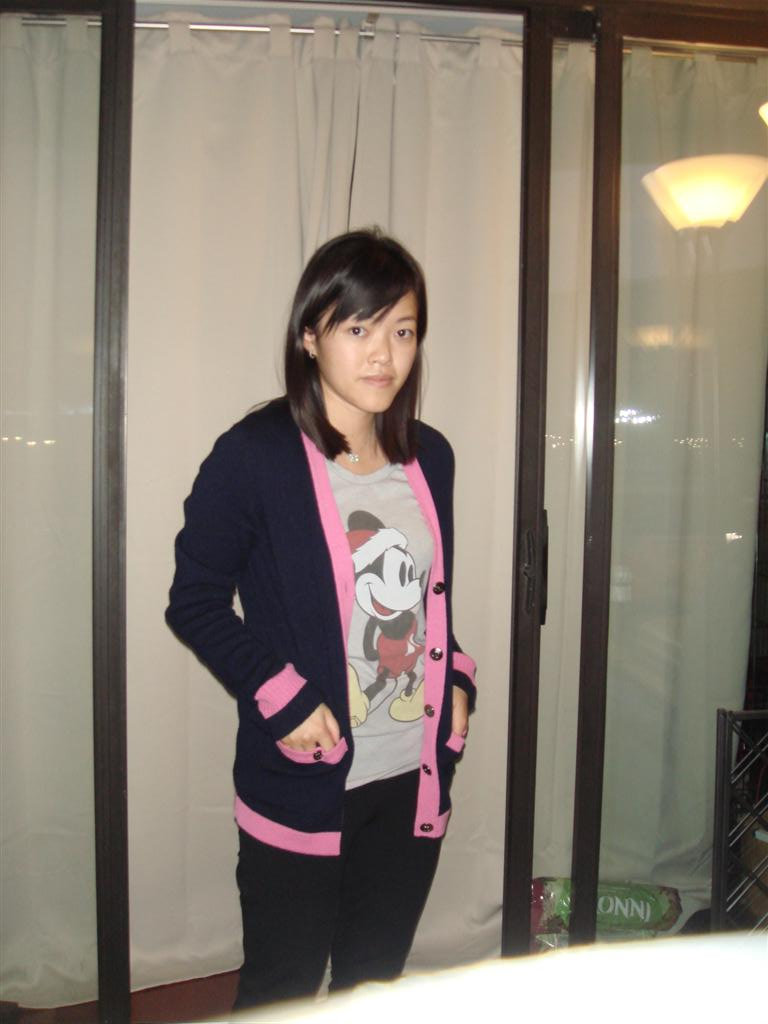 Chanel Cardigan Pink Blue